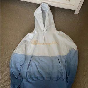 Champion ombré hoodie